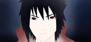 Sasuke 2 colored by JadeBarett