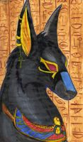 Anubis by Lapapolnoch