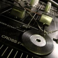 Turntable Vinyl Necklace by Om-Society