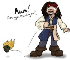 POTC Jack and Mum by yammyqueen