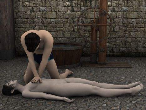 CPR on her cold and lifeless body 01 by shadowxyq