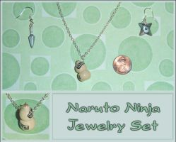 Naruto Ninja Jewelry Set by YellerCrakka