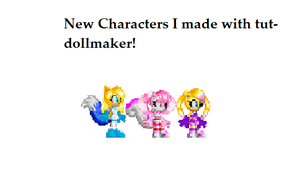 New Characters I made with tut-dollmaker by ChaniluvCats