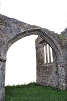 Church Ruins Archway and window.. by WelshDragonStockNArt