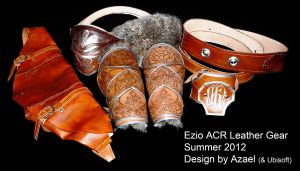 Ezio ACR Leather Gear by Azael047