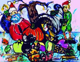 Holiday Greetings  LProctor by LaurieLefebvre