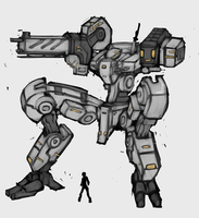 :+:Mecha01:+: Spindly by Endless-warr
