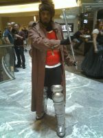 Gambit - Dragon*Con 2012 by CptTroyHandsome
