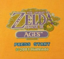 LoZ Oracle of Ages Cross Stitch by BritRo
