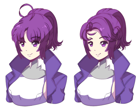 Erika Hairstyle by 21as
