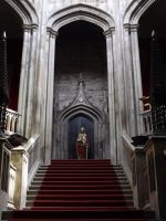 she waits at the top of the stairs by nonyeB