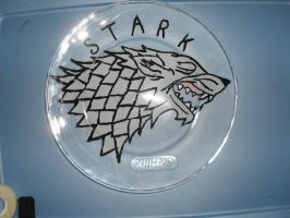 Game Of Thrones - Stark Plate by FawkYewImaCosplayer