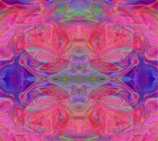 Psychedelic Rorschach Test by Syrupmasterz