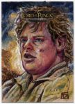 Lord of the Rings sketch card - Sam by DavidRabbitte
