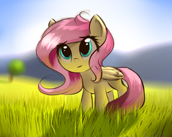 Fluttershy (Collab) by AlexArt1275