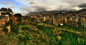 sant agata dei goti panorama by uurthegreat