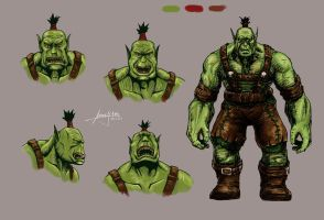 Orc by Mummy-fei