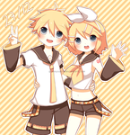 HBD Rin and Len by giannysuki
