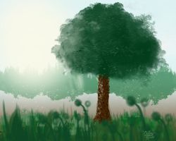 The Tree by alonghy