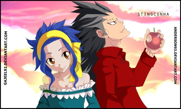 Levy And Gajeel Collab by Anderson93
