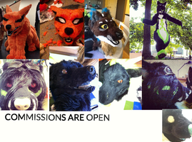 FURSUIT COMMISSIONS ARE OPEN! by Yamishizen