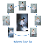 Ballerina stock Set by charligal-stock