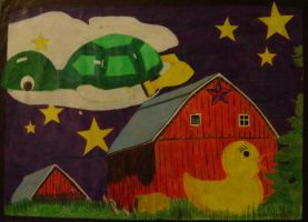 Turtle Dreams by atomikheart