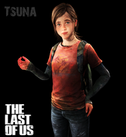 The Last Of Us - Ellie by Saskeni