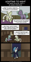 AtN: The Hero In Blue -  Part 2 by Rated-R-PonyStar