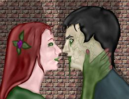 Poison Ivy's victim by GronHatchat