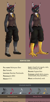 Gen reference sheet 2013 by Siplick