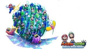 mario and luigi dream team by vgwallpapers