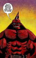 Hellboy B-Day by monkeyfeather