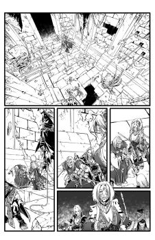 Pathfinder Hollow Mountain #5 page 7 by tomgarcia