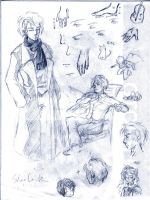 Sherlock sketches by HuoYaoRi