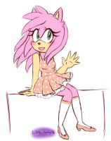 Little miss Amy Rose by little-honey16