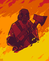 TF2: Out of the Fire... by AkitheFrivolicious