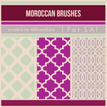 [For SAI] Moroccan Brushes by ASlovesLisa