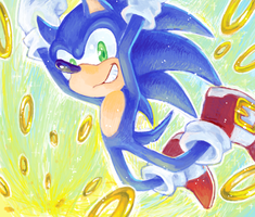 sonic by purin-p