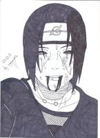 REQUEST:Itachi Uchiha by uczennica06