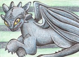 Toothless by Faymala