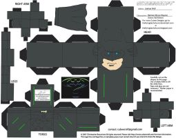DCF2: Batman Cubee by TheFlyingDachshund