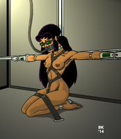 Blackfire Incarcerated by GrouchoM