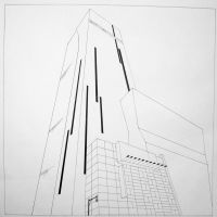 Tower, 3 point perspective by Malici0us