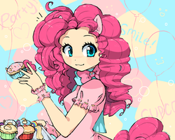 Pinkie Pie by RockuSocku