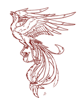 Phoenix Tattoo-LIMITED USE by Deathcomes4u