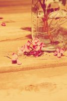 Lilacs in a Jar by AwakeYourSoul