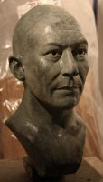 Phil. A portrait in bronze by Sculptor-Robert-D
