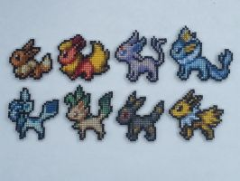 Eevee Family - Pokemon Mystery Dungeon 2 by animestyle13