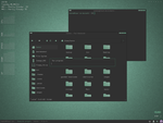 Sea Blocks pekwm theme by HannaPai